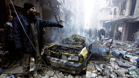 Car bomb in Aleppo