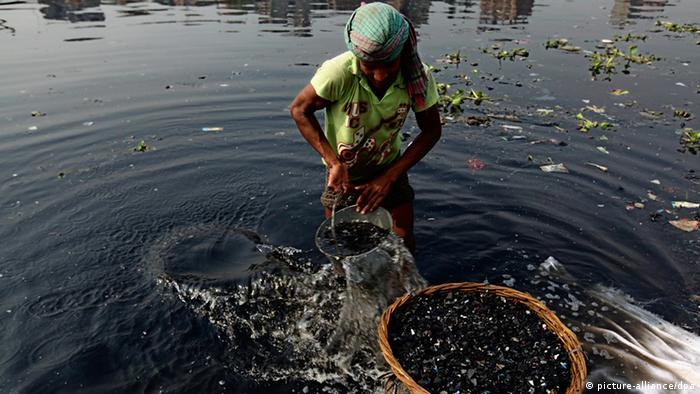 Bangladesh Burigang Umweltverschmutzung