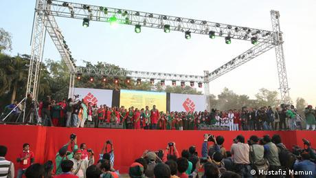 Bangladesh 42. Jahrestag Unabhängigkeitsfeier