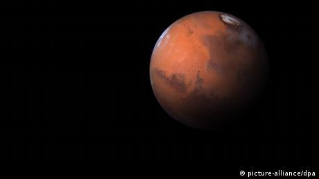 Picture-Teaser zur Marsmission Mars One