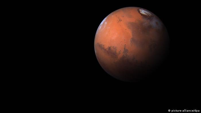 Picture-Teaser zur Marsmission Mars One