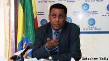 Dina Mufti Sprecher Außenminister Äthiopien