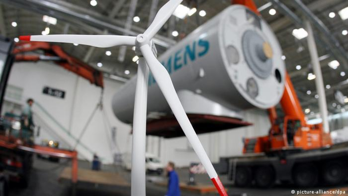 Siemens Windenergie Windkraftanlage
