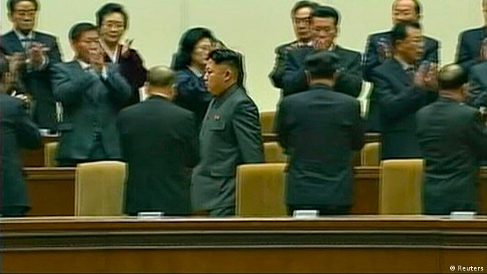 Nordkorea Kim Jong Un Gedenktag Pyongyang Screenshot KRT TV