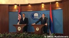 Aleksandar Vucic und Milorad Dodik