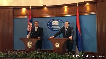 Vučić i Dodik su nakon referenduma na Krimu održali sastanak u Beogradu