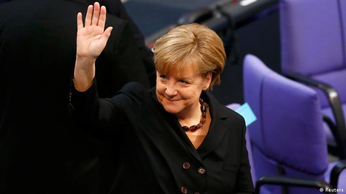 Angela Merkel Kanzerlamt Wahl Bundestag Berlin Deutschland 2014
