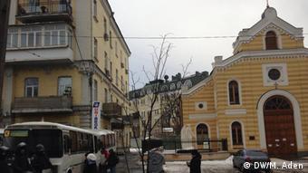 Евангелическая церковь Святой Екатерины в Киеве, декабрь 2014