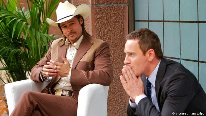Brad Pitt in The Counselor neben Michael Fassbender (picture-alliance/dpa)