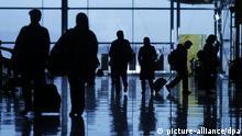 Symbolbild Flughafen Madrid Schengenvisum