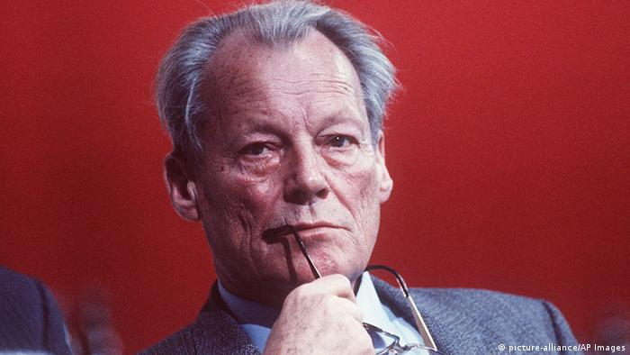 Porträt Willy Brandt