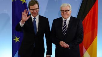 На відміну від свого попередника Ґідо Вестервелле, Франк-Вальтер Штайнмаєр поки не має наміру відвідувати Майдан