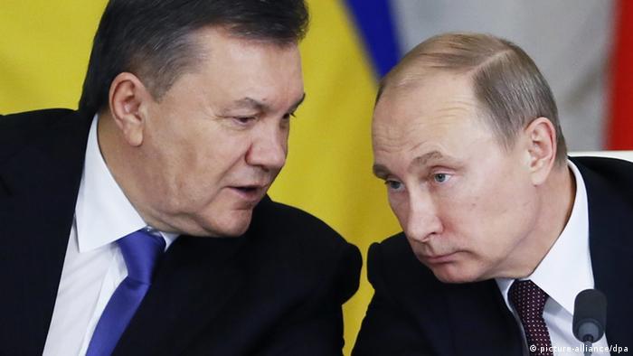 Wiktor Janukowitsch und Wladimir Putin Treffen in Moskau 17.12.2013