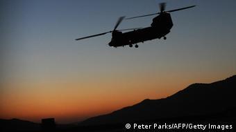Американский вертолет в Афганистане