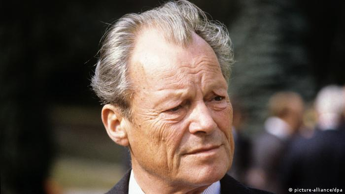 Porträt Willy Brandt (picture-alliance/dpa)
