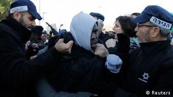 Israel Proteste afrikanischer Migranten in Jerusalem 17.12.2013 (Reuters)