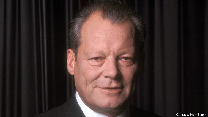 Rosto de Willy Brandt