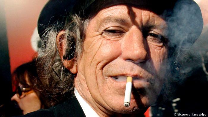Keith Richards Gitarrist Rolling Stones 2008