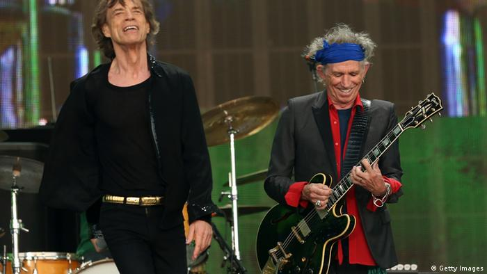 Keith Richards Gitarrist Rolling Stones 2013