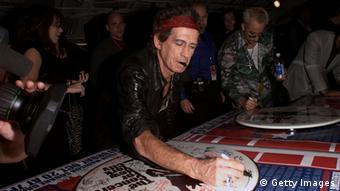 Keith Richards Gitarrist Rolling Stones 2001