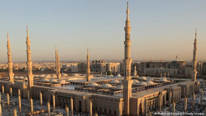 Moschee in Medina Saudi-Arabien
