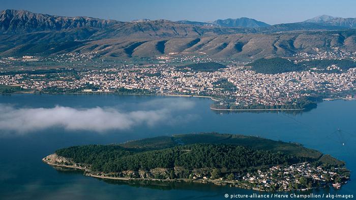 griechische Stadt Ioannina