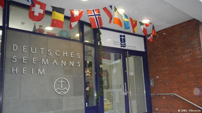Hasta ahora, la ayuda solo ha llegado en casos individuales y siempre de fuentes privadas: aquí, un albergue para marineros en Hamburgo.