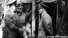 Alfred Rosenberg in Uniform /Hitler