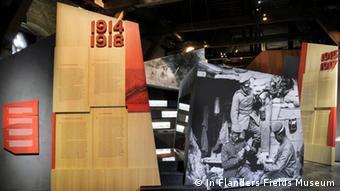 Exponate im In Flanders Fields Museum in Ypern (Foto: In Flanders Fields Museum)