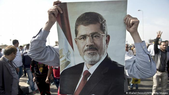 Pro-Mursi Proteste in Kairo am 04.11.2013 (Foto: Getty Images)