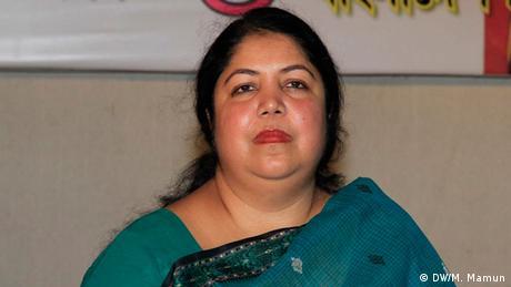 Bangladesch Shirin Sharmin Chowdhury (DW/M. Mamun)