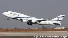 Flugzeug EL AL