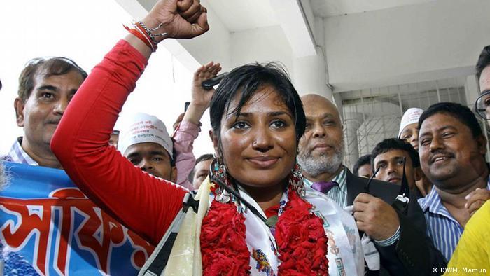 Bangladesch Wasfia Najreen