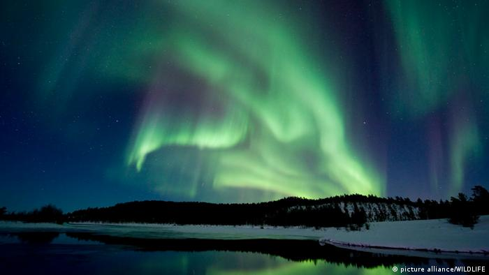 Nordlicht Finnland