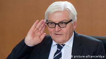 Aussenminister Frank-Walter Steinmeier 17. Dez. 2013