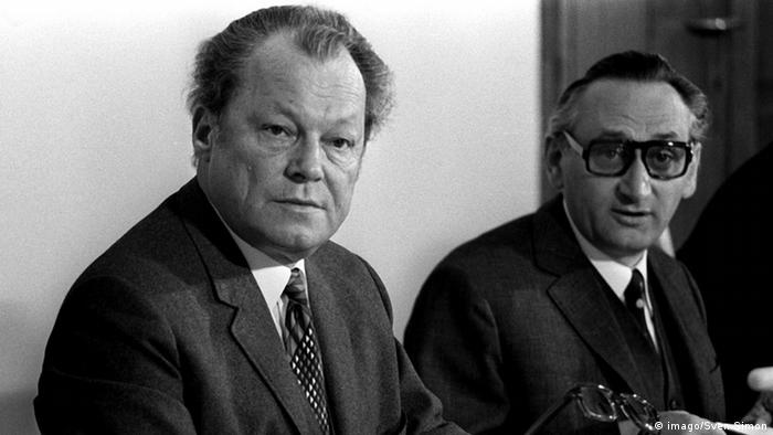 Willy Brandt und Egon Bahr