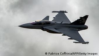 Швеція під час останніх російських навчань піднімала у небо свої військові літаки