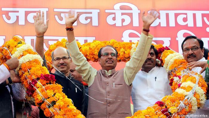 Shivraj Singh Chouhan Politiker aus Indien