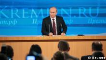 Russland Moskau Präsident Wladimir Putin PK Pressekonferenz 19.12.2013