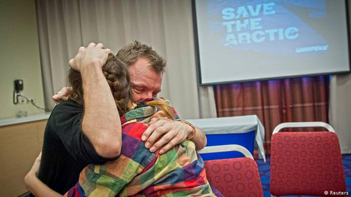 Russland Massenfreilassung Amnesty save the arctic Greenpeace