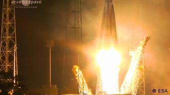 گایا از ایستگاه فضایی گویان در فرانسه به فضا پرتاب شد