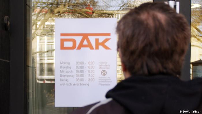 The German health insurance group, DAK