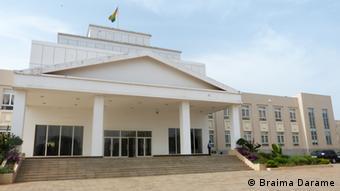 Regierungsgebäude Bissau