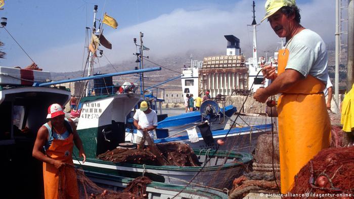 Fishermen in Sicily