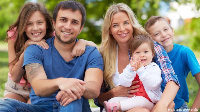 Symbolbild Glückliche Familie