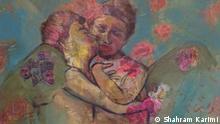 titel: Engel, Gemälde von dem iranischen Maler, Shahram Karimi Rechte: der Maler hat uns das Bild zur Veröffentlichung zur Verfügung gestellet
