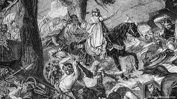 Карл Великий - полководец франков