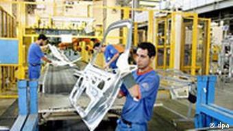 Autoindustrie Iran - Samand