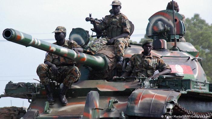 South Sudan's army
