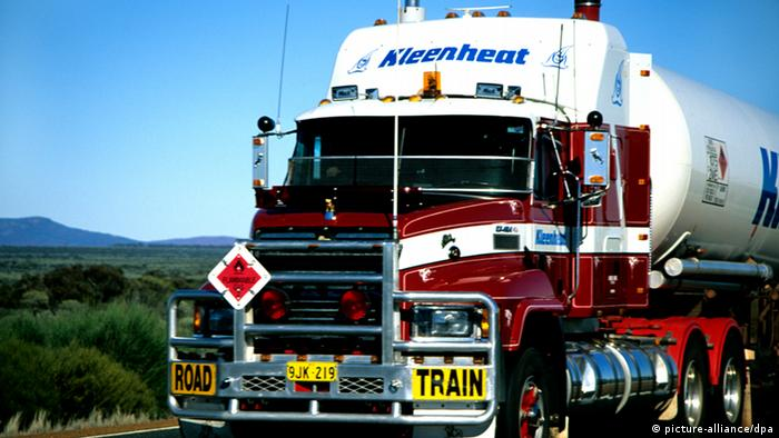 Australien Flüssiggas Transport (picture-alliance/dpa)